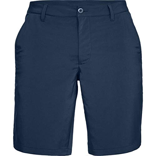 under armour eu tech short corto, uomo, blu, 36