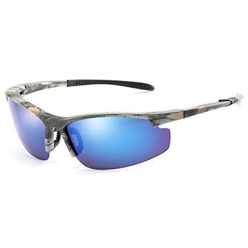 CQYYDD Sonnenbrille Modedesign Polarisierte Sonnenbrille Männer Camo Rahmen Fahren Sonnenbrille Nachtsichtbrille Brille Brillen UV400 02