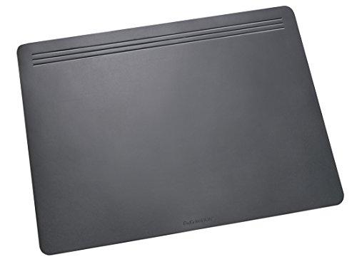 Läufer 32606 Matton Schreibtischunterlage 40x60 cm, schwarz, rutschfeste Schreibunterlage für besonders hohen Schreibkomfort, hochwertiger Vlies auf der Rückseite