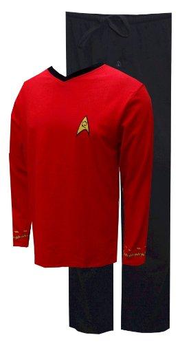 Officially Licensed Star Trek Pajama Set - Scotty (Red) - XL
