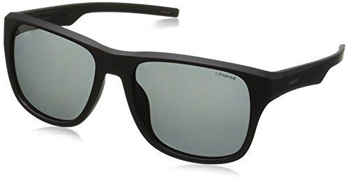Polaroid Herren PLD 3019/S Y2 DL5 55 Sonnenbrille, Schwarz (Matt Black/Grey Pz),
