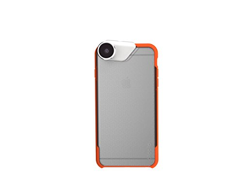 olloCase for iPhone 6 Plus / 6s Plus: Matte Clear/Orange (Case Only)