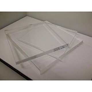 Clear Acrylic Perspex Sheet, A4 Size, 3mm thick
