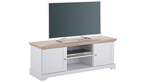 LifeStyleDesign 10070215 Wohnwand, Holz, weiß, 240 x 45 x 180 cm - 2