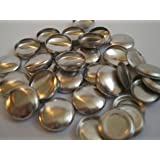 22mm Metal Self-Cover Buttons x 10