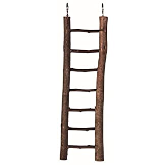Trixie Natural Living Wooden Ladder with 7 Rungs, 30 cm, 7