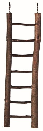 Trixie Natural Living Wooden Ladder with 7 Rungs, 30 cm, 1