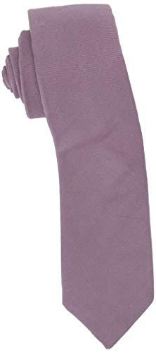 Original Penguin Herren Haney Solid Ties Krawatte, violett, Einheitsgröße Violet Solid Tie