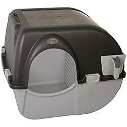 Omega Paw - Roll'n Clean - Bac à litière autonettoyant - Chat plus de 6 kgs