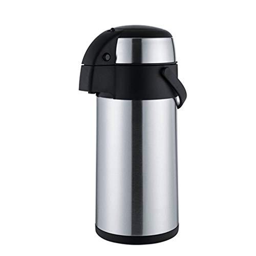 FYCZ Isolierungs-Topf-Flasche, Pumpen-Tätigkeit 2.5-5 L Edelstahl vervollkommnen für heiße kalte Flüssigkeiten im Freienhaus (größe : 17x44cm) -