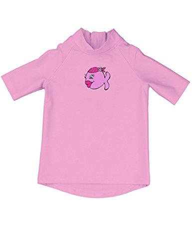 iQ-Company Kinder UV-Shirt IQ 300 Kiddys Jolly Fish, rosa (Pink (Kinder)), Gr. 80/86 (Strahlung Schutzkleidung)