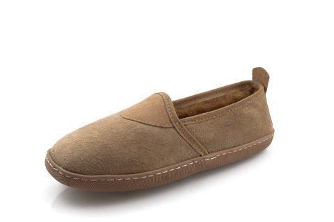 Damen Lammfell- Mokassin Susi beige Schuhgröße EUR 40