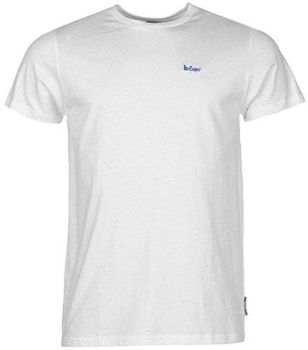 Lee Cooper -  T-shirt - Uomo White