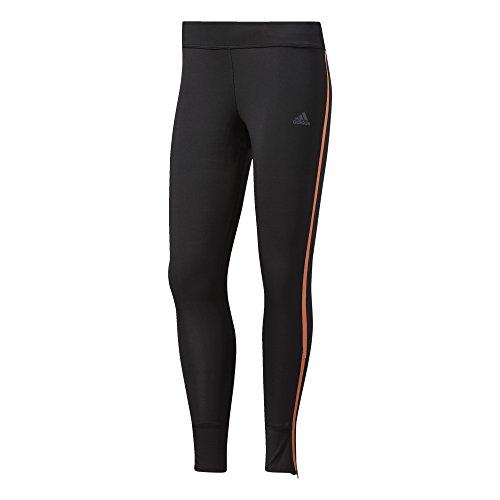 adidas Damen Response Sporthose, Black/Easy Orange, M