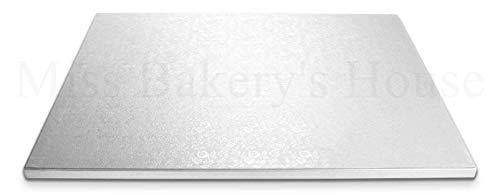Miss Bakery's House® Cake Drum - 12 mm - 30x30 cm - 5 Stück