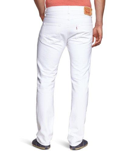 Pirate Booty auf American Apparel Fine Jersey Shirt Weiß (Optic White 0651)