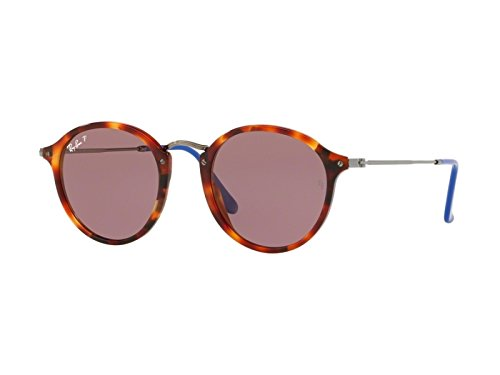 Ray-Ban(????) Round Classic Violet Polar Gepolariseerde Sunglasses 0RB2447 1245W0 49