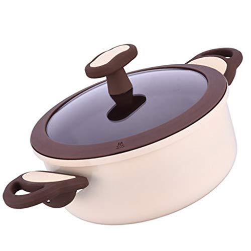 Küchengeschirr Keramik-Antihaft-Milchpfanne-Küche Sauce Soße Suppe-Antihaft-Pfanne , Für Alle Öfen Geeignet (größe : 20cm)