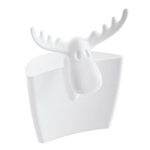 Koziol Rudolf, 3557525 Tasse Pot à ustensiles en Plastique 55 x 72 x 88 cm, Blanc