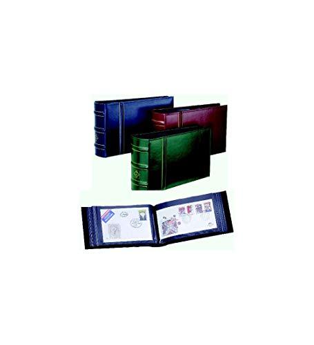 Leuchtturm FDC, Brief-Album Classic Design Tannengrün mit Schutzkassette