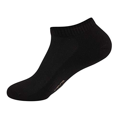 chmhy Herren Sport Performance Trainer Low Cut Socken Schwarz One Size -