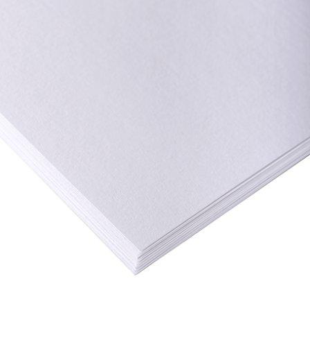 Clairefontaine 37292C Skizzenpapier (160 g, DIN A1, 59,4 x 84,1 cm, 10 Blatt, ideal für Künstler oder die Schule) weiß