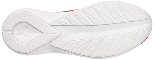 Puma Damen Rebel Mid Wns Summer Sneakers Rot (high risk red-puma team gold 02)