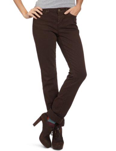 Eddie Bauer Damen Jeans Niedriger Bund, 23217160, Gr. 42 (12), Braun (Dunkelbraun) Pioneer-boot-jean