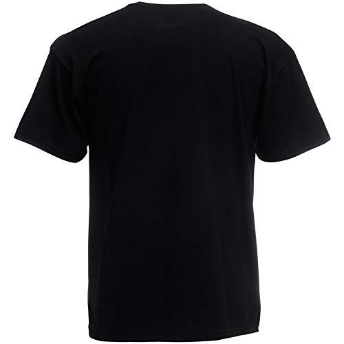 Fruit of the Loom Herren T-Shirt Original T 61-082-0 Black L