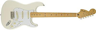 Fender Jimi Hendrix Stratocaster Maple Fingerboard Electric Guitar - Olympic White