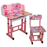 Kids Wooden Study Table In Sofia Cartoon Printed/New Year Gift For Kids Table Nice Quality By Kuresh Toy
