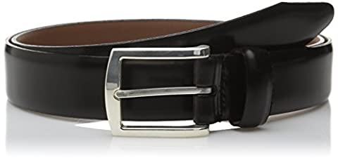 Allen Edmonds mens Midland Ave Belt Belt  - black