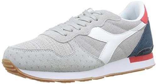 Diadora camaro summer, sneaker uomo, (bianco/blu denim scuro c5161), 42 eu