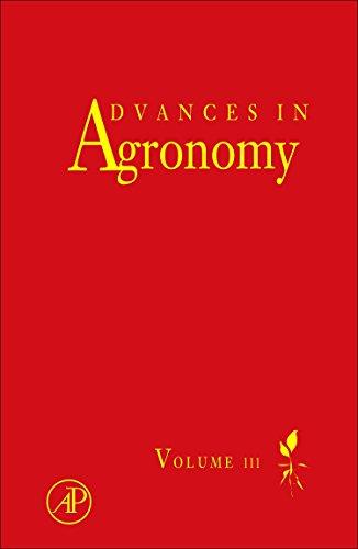 Advances in Agronomy: 111