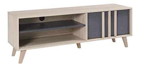 Movian Moselle TV-Board, Sonoma-Eiche/Dunkelgrau Farbe -