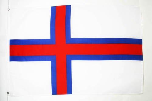 DRAPEAU ILES FÉROÉ 150x90cm - DRAPEAU FÉROÏEN 90 x 150 cm - DRAPEAUX - AZ FLAG