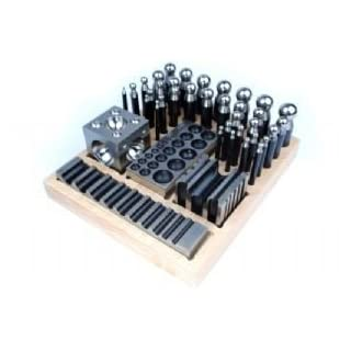 Proops 41 piece Doming Block and Punch Set Made of Steel. (J1144) Free UK Postage.