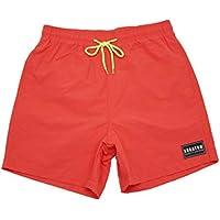 Delicacydex Diseño de Moda Transpirable Hombres Pantalones Cortos de Playa de Secado rápido de Verano Casual Color sólido Masculino atlético Corriendo Pantalones Cortos de Gimnasio