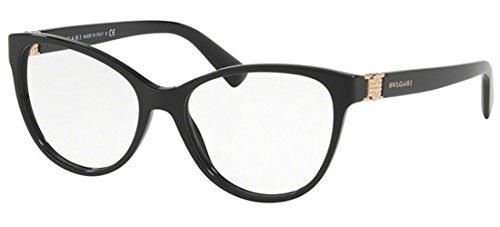 BVLGARI Damen Sonnenbrille 0BV 4151 501 54, Schwarz (Black)