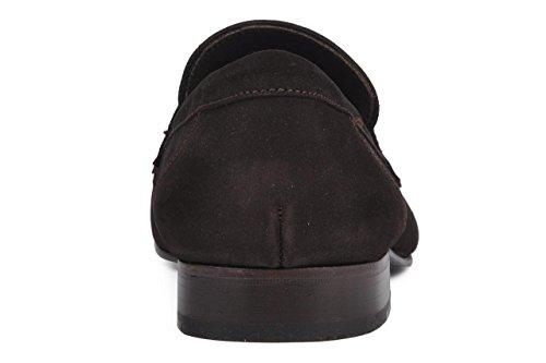11sunshop Arsene Chaussures Classic Modèle En Daim Et Cuir Design By Hgilliane En 33-46 Noir