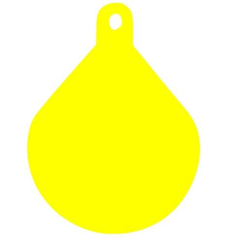 Ankerboje / Kugelfender in orange oder gelb (gelb)