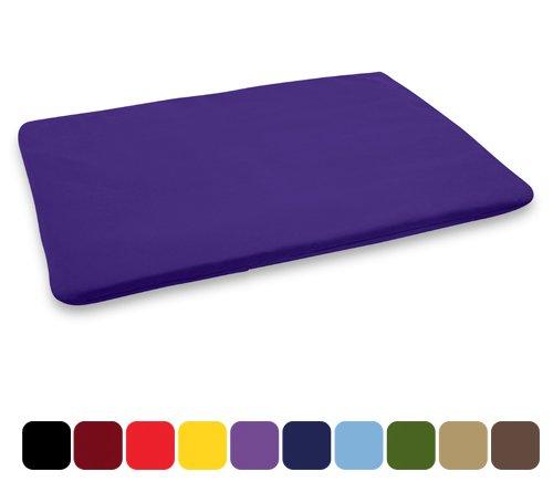 Blue Banyan Tapis de méditation, Zabuton - Coussin plat Violet