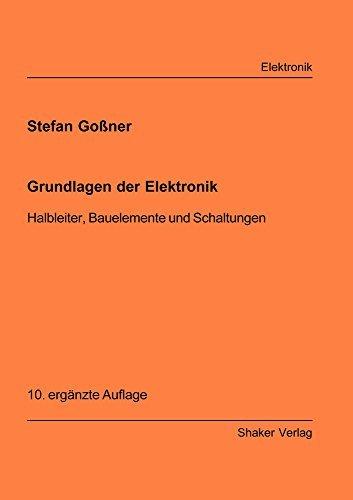Grundlagen der Elektronik. Halbl...