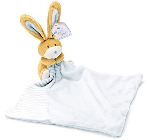 Mousehouse Gifts Blau Baby Schmusetuch Schnuffeltücher Hase für Jungen (Kleinkind Schnuffeltuch-set Blau)