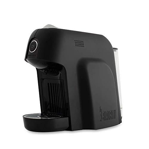 Bialetti Smart Soft Touch Macchina da caffè Espresso per Capsule in Alluminio, 1200 W, Nero