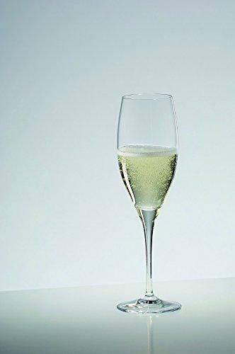 2 Gläser Champagner Cuvée Prestige von Riedel aus der VINUM Serie Riedel Vinum-serie