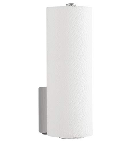 Homfa Küchenrollenhalter Papierrollenhalter Rollenhalter Für Küchenkrepp  Wandmontierter Papierrollenhalter Selbstkelbende Küchenrollen