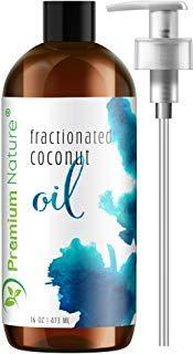 Kokosöl Coconut Oil Fraktioniert Flüssig - Premium Nature Kokosnuss Hautpflege ReinHaare Gesicht & Körper Massage Fraktioniertes Flüssiges Hautöl Trockene Haut Geruchsneutral Kokosnussöl