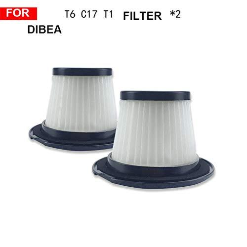 Xue binghualoll 2PC Filtro Dibea T6 C17 T1 SC4588