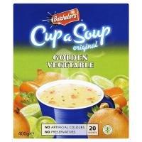 Preisvergleich Produktbild Batchelors Cup ein Original- Suppe Goldene Gemüse 20 Sachets 400g